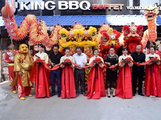 King BBQ khai trương nhà hàng thứ 34 tại Sương Nguyệt Ánh