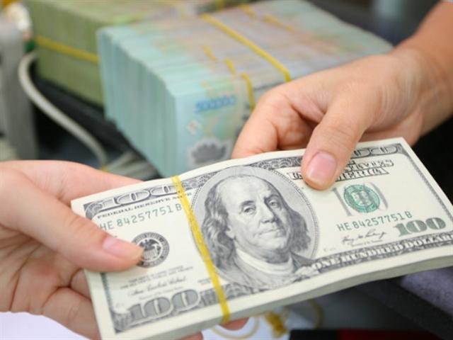 Tỷ giá trung tâm ngày 1/2 tăng 11 đồng