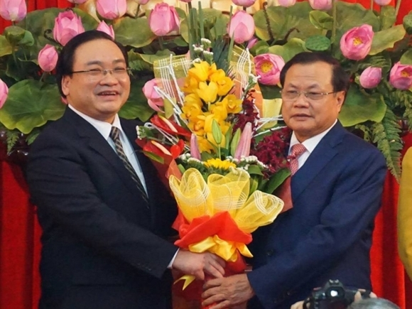 Phó Thủ tướng Hoàng Trung Hải làm Bí thư Thành ủy Hà Nội