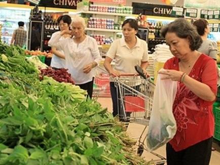 Hà Nội: CPI tháng Tết tăng 0,47%, giá rau tăng 60%