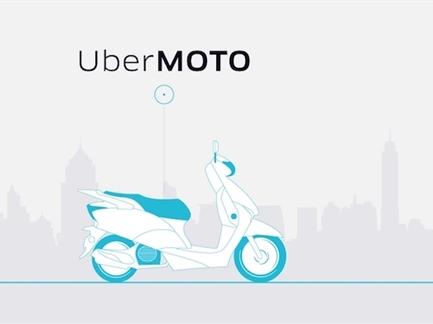 Cạnh tranh với Grab, Uber cũng ra mắt dịch vụ xe ôm