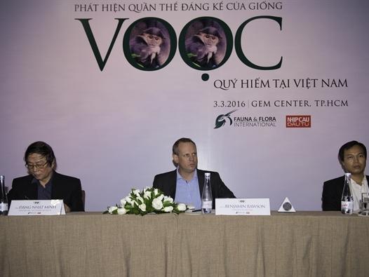 Phát hiện quần thể Voọc chà vá hơn 500 cá thể tại Kon Tum
