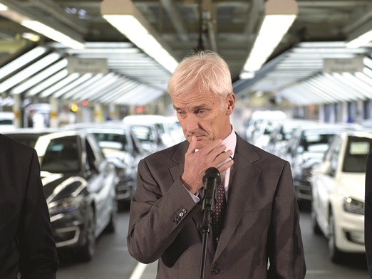 Volkswagen gian nan xử lý khủng hoảng
