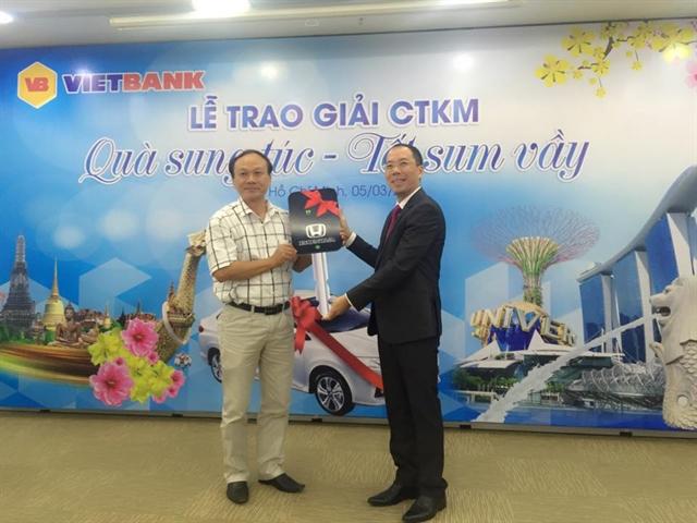 """VietBank tổ chức thành công Lễ trao giải CTKM """"Quà sung túc – Tết sum vầy"""""""