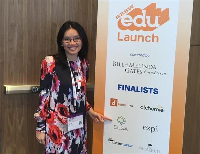 Startup giáo dục của 2 cô gái Việt vào vòng chung kết cuộc thi có tỷ lệ