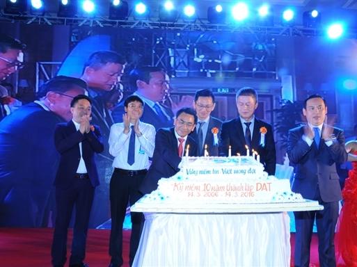 Công ty DAT kỷ niệm 10 năm thành lập