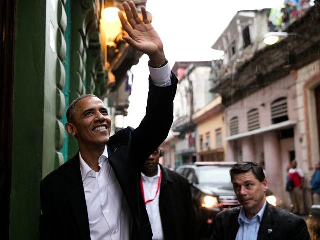 Những bức ảnh nổi bật trong chuyến thăm Cuba của tổng thống Mỹ