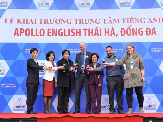 Apollo English - Tưng bừng quà tặng và ưu đãi nhân dịp khai trương hai trung tâm mới tại Hà Nội