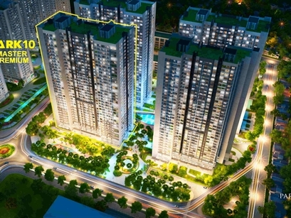 Mở bán Park 10 - Master Premium: Tòa căn hộ đắt giá nhất Times City