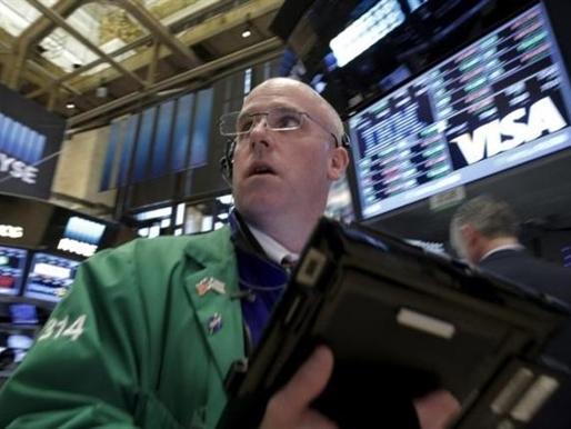 Dow Jones đứt mạch tăng 7 phiên liên tiếp