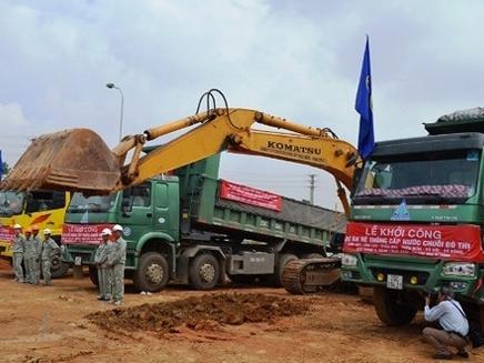 Doanh nghiệp Trung Quốc trúng thầu đường nước sông Đà số 2
