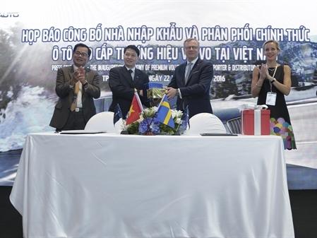 Bắc Âu Auto phân phối chính thức ô tô cao cấp thương hiệu Volvo tại Việt Nam