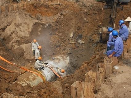 Nhà thầu đường ống nước Sông Đà từng bị nhiều khách hàng 'chê'