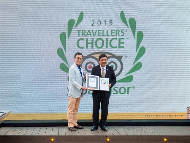 Thành phố Nha Trang vinh dự nhận giải thưởng