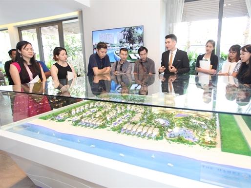 Tanzanite International công bố khai trương khu nhà mẫu dự án The Hamptons Hồ Tràm
