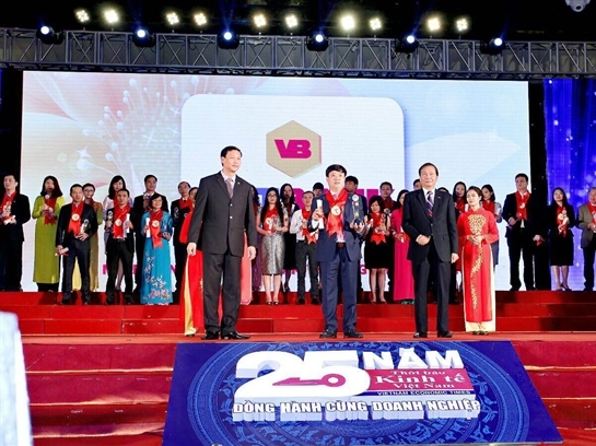 Vietbank vinh dự nhận giải thưởng