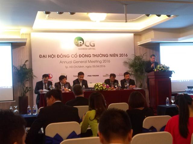 Lãnh đạo Bamboo Capital hứa không nhận thưởng nếu giá cổ phiếu dưới 15.000đ