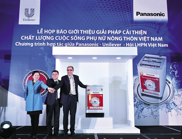 Unilever và Panasonic cùng bắt tay nâng tầm cuộc sống Việt