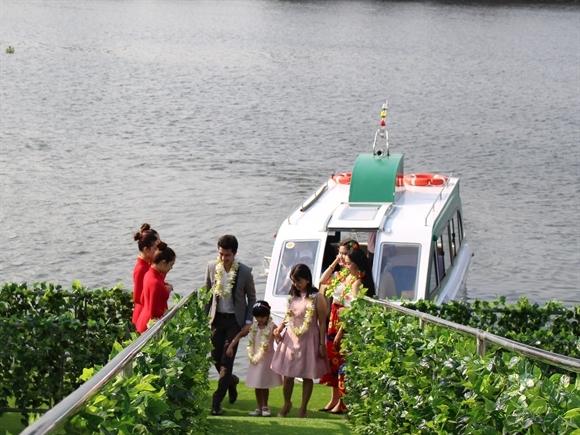 Tận hưởng cuộc sống với căn hộ resort bên sông