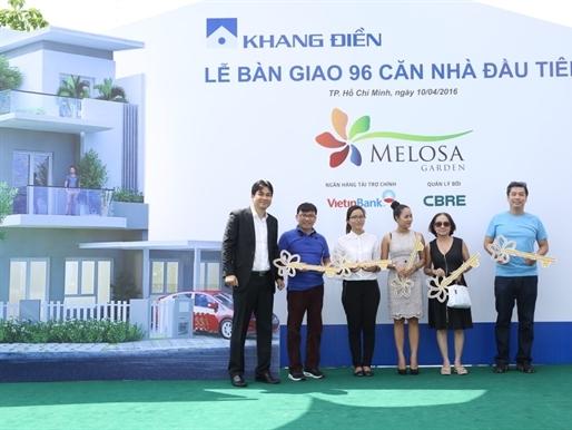 Melosa Garden bàn giao 96 căn nhà cho khách mua đợt 1