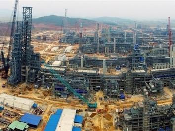 Dự án Lọc hóa dầu Nghi Sơn đã hoàn thành 80%, dự kiến hoạt động năm 2017