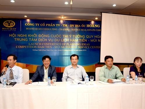 HQC khởi động cuộc thi ý tưởng quy hoạch dự án du lịch Hàm Tiến - Mũi Né