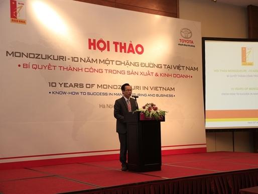 Toyota Việt Nam và đại học Bách khoa Hà Nội tổ chức hội thảo