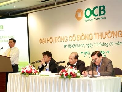 OCB tổ chức thành công Đại hội cổ đông thường niên 2016
