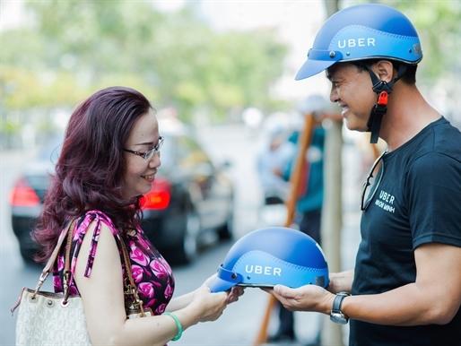 Uber ra mắt dịch vụ xe ôm tại Việt Nam