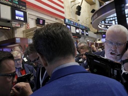 Phố Wall lên sát mức kỷ lục nhờ cổ phiếu năng lượng và tài chính