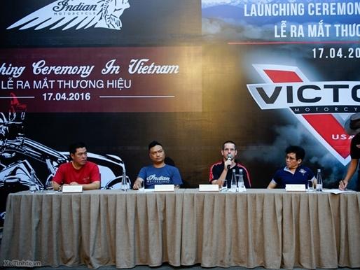 Ra mắt chính thức thương hiệu Indian Motorcycle và Victory Motorcycles tại Việt Nam