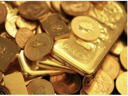 Giá vàng rơi khỏi đỉnh 5 tuần khi USD hồi phục