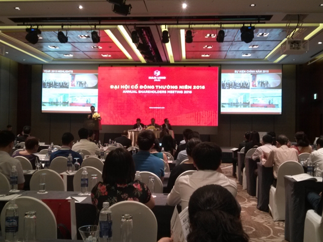 ĐHCĐ NLG: Làm nhà ở xã hội, tăng hợp tác với nhà đầu tư nước ngoài