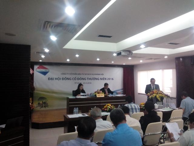 Khahomex dự kiến cổ tức 2016 tỷ lệ 15%, hợp tác Cảng Sài Gòn thực hiện dự án