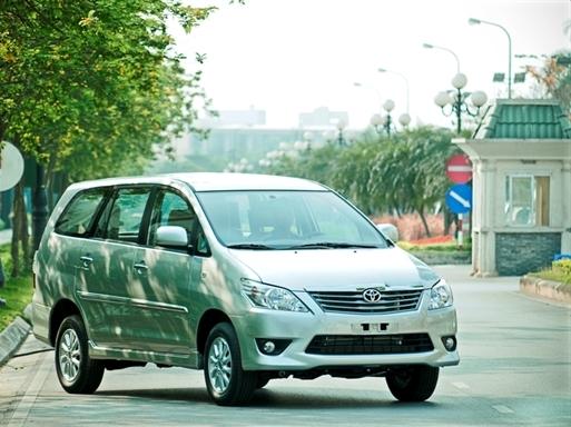 Toyota triệu hồi hơn 700 chiếc Innova tại Việt Nam