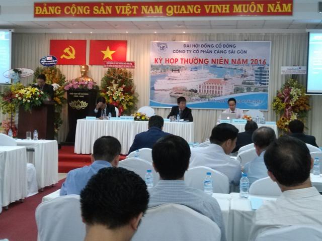 ĐHCĐ Cảng Sài Gòn: Hai nhà đầu tư chiến lược VietinBank và VPBank xin thoái hết vốn