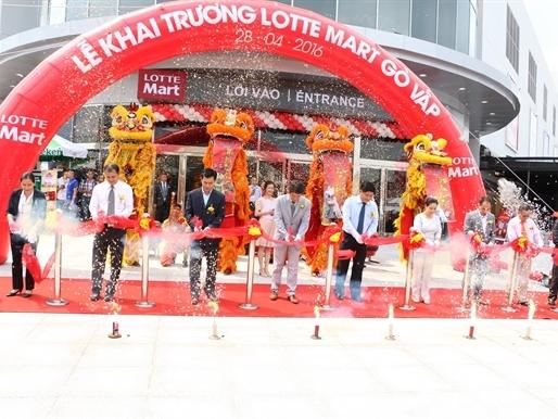 Lotte Mart khai trương siêu thị thứ 12