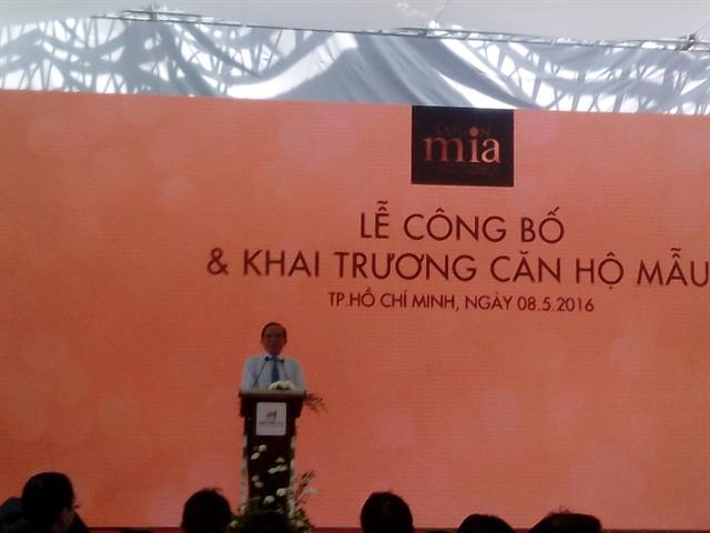 Hưng Thịnh làm lễ công bố và khai trương căn hộ mẫu Saigon Mia