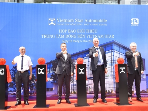Vietnam Star khai trương trung tâm đồng sơn quy mô và hiện đại nhất Việt Nam