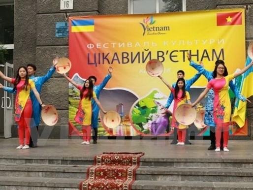 """""""Một thoáng Việt Nam"""" tại thủ đô Kiev"""