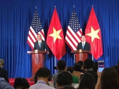 Mỹ bỏ lệnh cấm vận vũ khí sát thương với Việt Nam