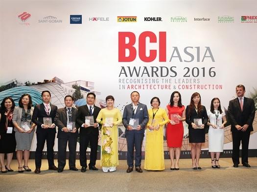 Phuc Khang Corporation được vinh danh trong Top 10 Đơn vị phát triển BĐS hàng đầu Việt Nam 2016