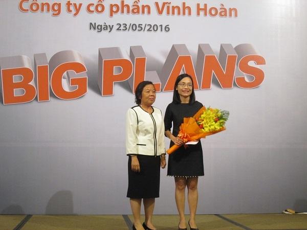 Bà Trương Thị Lệ Khanh rời ghế Tổng Giám đốc Vĩnh Hoàn