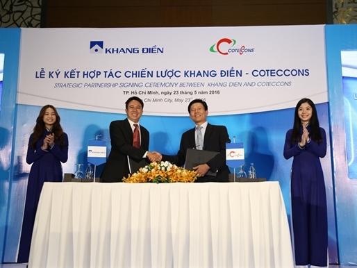 Khang Điền ký kết hợp tác chiến lược với CotecCons và hợp tác đầu tư với Khải Hoàn Land