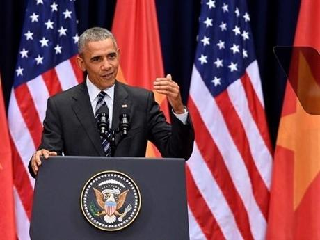 Obama phát biểu về quan hệ Việt - Mỹ trước giới trẻ Việt