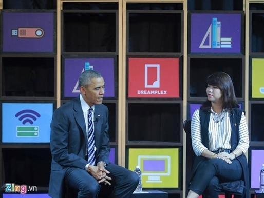 Nhà Trắng đăng bài viết của nữ doanh nhân 8X đối thoại với Obama