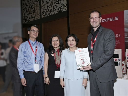 Häfele đồng hành cùng giải thưởng BCI châu Á 2016