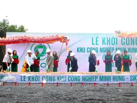 3.400 tỷ đồng xây dựng Khu công nghiệp Minh Hưng - Sikico