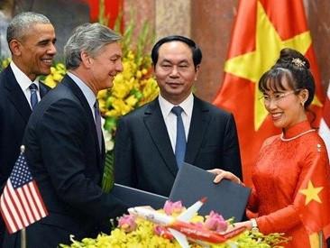 Dấu ấn Vietjet trong chuyến thăm Việt Nam của Tổng thống Mỹ Barack Obama