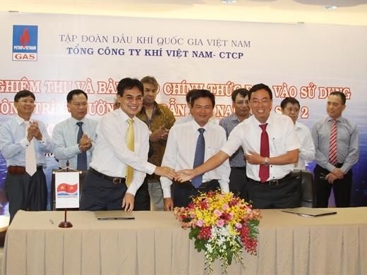 GAS vận hành đường ống dẫn khí Nam Côn Sơn 2